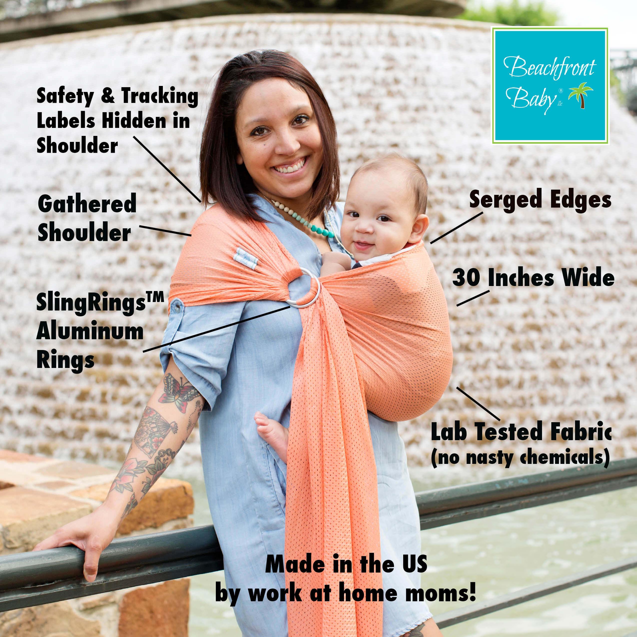 Xl Beachfront Baby Sling Beachfront Baby Versatile Baby