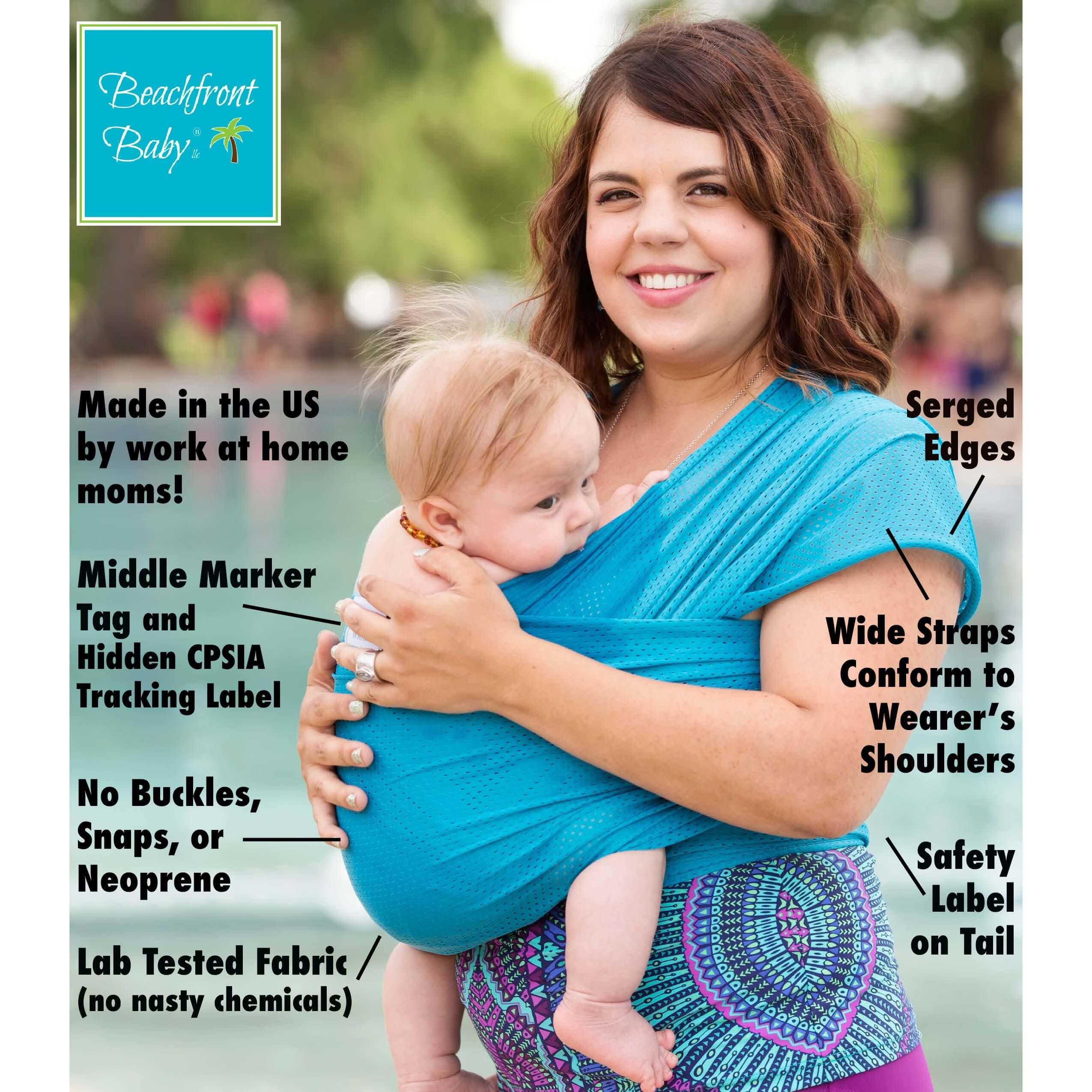 Xl Beachfront Baby Wrap Beachfront Baby Versatile Baby Carriers