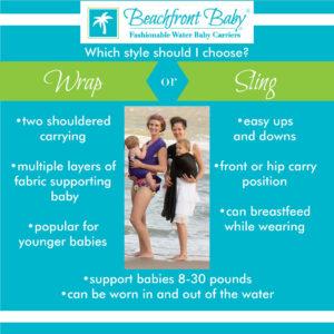 One Size Beachfront Baby Wrap Beachfront Baby Versatile Baby Carriers