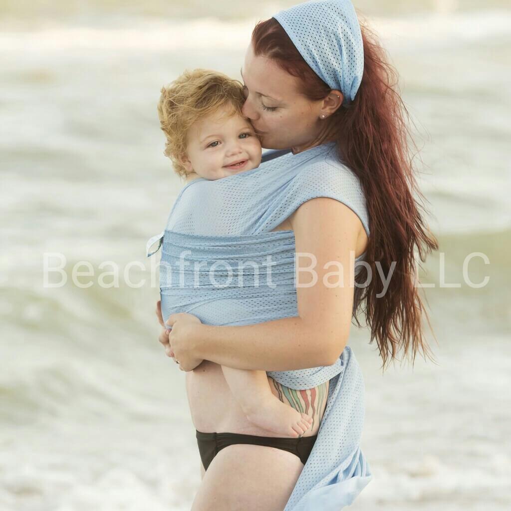 Petite Beachfront Baby Wrap – Beachfront Baby- Versatile ...
